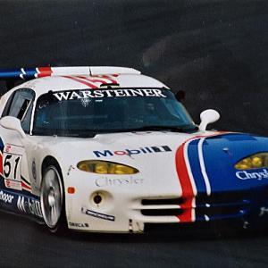 元F1ドライバーもGT2 '98FIA GT選手権ポッカ鈴鹿1000㌔ 松田選手表彰台