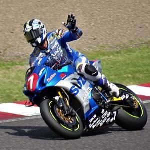 ST1000クラス 津田拓也選手&スズキ勢 全日本ロードレース鈴鹿MFJ-GP