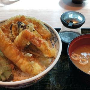 らら亭(海老天丼)