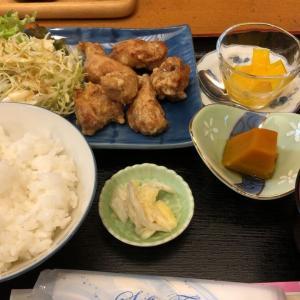 湯葉(唐揚げ定食)