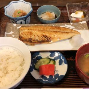 四季(塩サバ焼き、切干大根定食)
