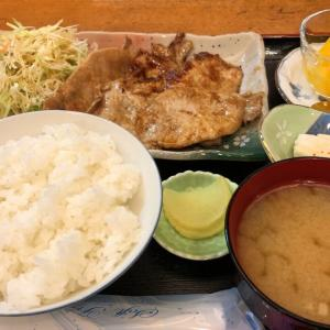 湯葉(豚生姜焼き定食)