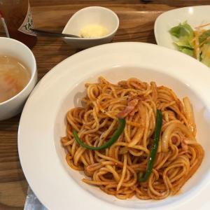 盛の食卓・おでって食堂(ナポリタンスパゲッティ)