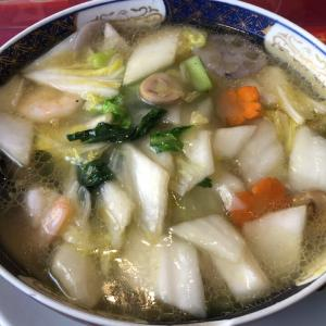 美香園(海老野菜ラーメン)