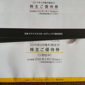 2702 マクドナルド優待!!!