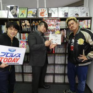 """2AWで猛威を振るう""""Tempest""""浅川紫悠選手&最上九選手がプロレスTODAY編集部に来社!"""