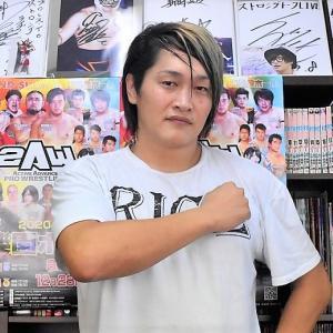 """【番組出演】2AW""""滝澤大志""""選手にプロレスTODAY増刊号へ出演頂きました!"""