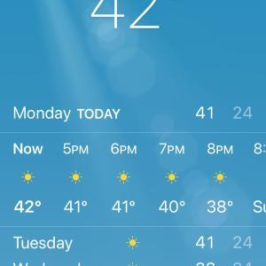 暑いんですけど