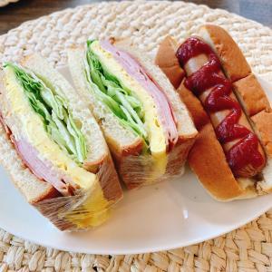 サンドイッチとホットドッグ