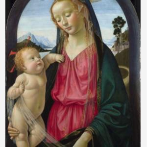 聖母子 ドメニコ・ギルランダイオ