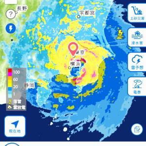 台風15号。