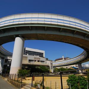 阪神高速3号神戸線 武庫川出口 [ループ線を見に行こう]