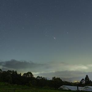 浅間山の麓で見た星空