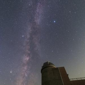 上越清里星のふるさと館と星空