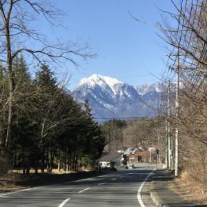 八ヶ岳や南アルプスが綺麗~(^^♪