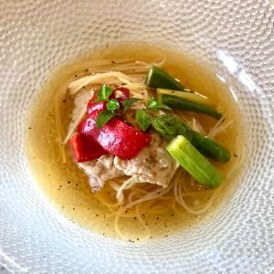 【レシピ】昆布出汁でつくる 冷製スープカレーパスタ