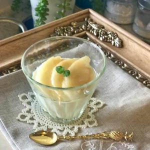 桃にオリーブオイル