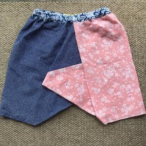 夏に涼し 手ぬぐいの三角パンツ