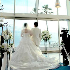 結婚式が行われました,゚.:。+゚