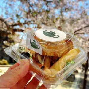 RiRi teaさんのランチボックス   桜の木の下で・・・・・    (豊田市桜町)