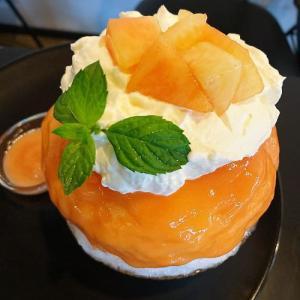 かき氷職人『Yummy』さんで猿投産白桃かき氷を食べました!  (豊田市桜町)  土日限定営業