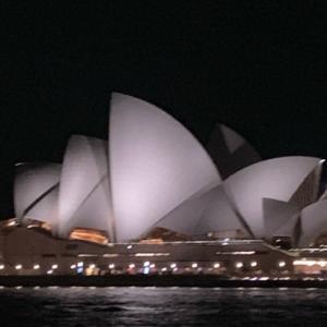 シドニーの朝から帰国