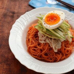 クックパッドiPhone / iPadアプリ掲載☆辛さマイルド☆ビビン麺(韓国風甘辛素麺)