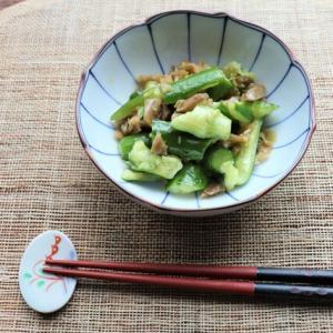 食材2つ&簡単1分☆きゅうりのピリ辛ザーサイ和え【#スパイス大使 #スパイスでおいしく減塩】