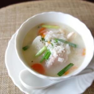 【掲載】ほったらかしで簡単☆サムゲタン風鶏粥