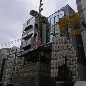 京都にて 山鉾