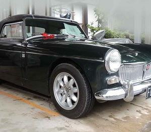 NZの  1964年型 MG ミゼットを購入。その5  通関完了,納車