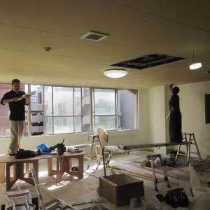 仙台市青葉区春日町テナントビル『3階フロアー全面リフォーム』が続きます。