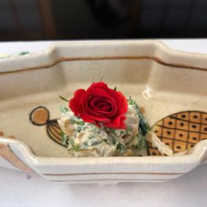 4月の着物deランチ1   in酒肴菜飯さくら