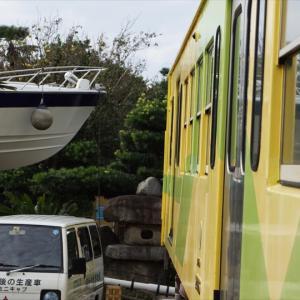 昭和な最終回は電車とボートがあわや?!ってほどの。