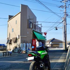 関東ラーメンツーリング・梅乃家はやっぱりね寒い日のラーツー向き
