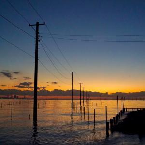 行きたかった東京湾の絶景スポ、電柱海岸へソロツー