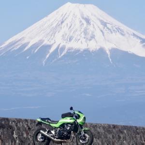 春はやっぱり富士山、富士見ツーじゃない?