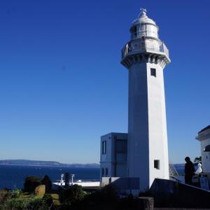 関東の灯台ツーリング選。灯台登って超絶景、対岸妄想、