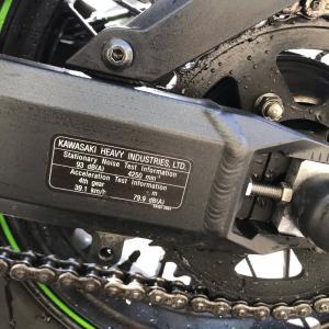 フレームの純正ステッカー知ってました?!Z900RSCAFE