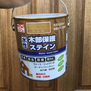 昭和の木製ドアをレストレーション。