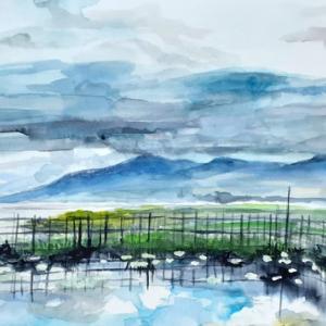 インレー湖の朝