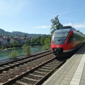 ライン川を挟んでドイツとスイス、、、ラウフェンブルグ