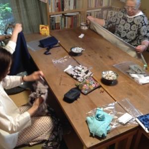 お久しぶり『ちくちく手縫いの会』ご報告