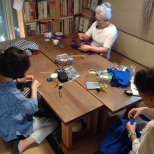 『ちくちく手縫いの会』夏の装いご報告