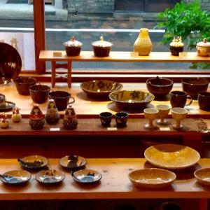 あまたの展示会『近藤佳寿子 陶展2021』始まりました