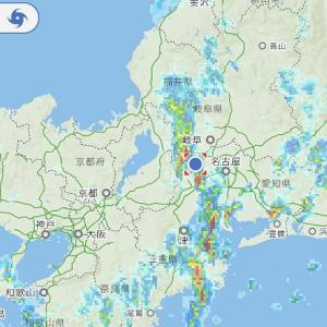 かなりの雨とカミナリと~
