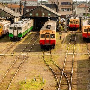 小湊鉄道車両基地