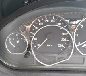 BMW E46 メーターリング脱落修理