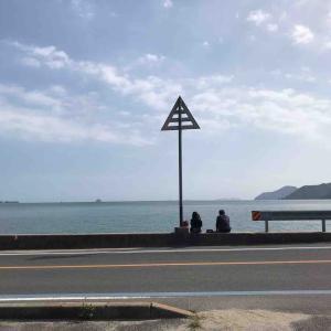 海の前の、のんびり素敵なスペース
