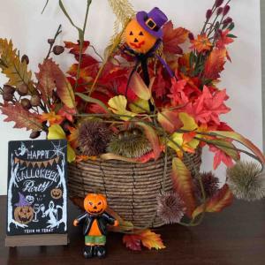 三店舗の、秋の飾り付けをしました。
